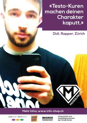 Didi, Rapper, Zürich