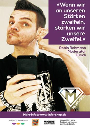 Robin Rehman, Moderator SRF, Zürich