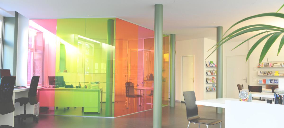 Das innere des JOB SHOP/INFO SHOP - die Anlaufstelle für jungen Menschen aus Zürich