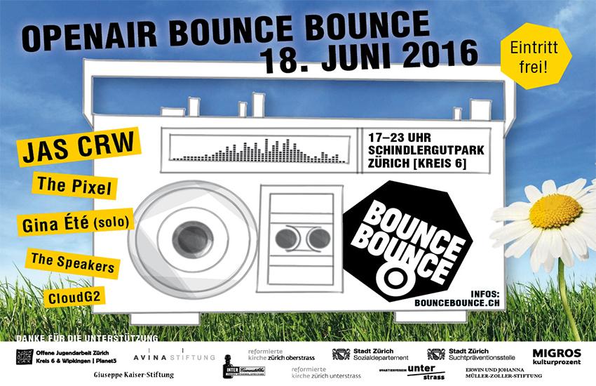 Das 7. Openair Bounce Bounce steht an!