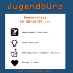 Donnerstags, 15.30 - 18 Uhr